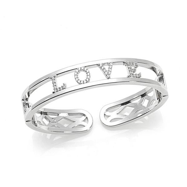 Bracciale-rigido-scritta-easy-roan-preziosi-gioielli