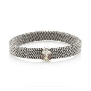 Bracciale-simbolo-gufo-flex-roan-preziosi-gioielli