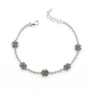 Bracciale-catena-quadrifogli-linea-easy-roan-preziosi-gioielli