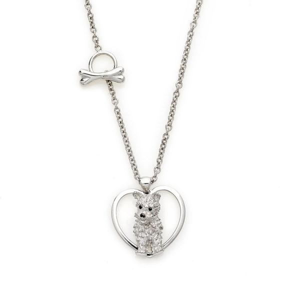 easy-flex-doggy-ciondolo-cane-silver-cuore-roan-gioielli